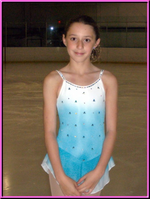 Theresa Bauer - a young skater from Atlanta, Georgia